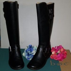 NWT BOC Black Riding Boots